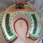 Horseshoe Cake - Racetrack