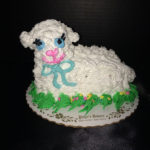 Small Lamb Cake - Buttercream or Coconut