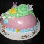 Large Egg Cake