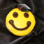 Grad Smilie Cookie
