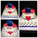 Sacred Heart Tier Cake