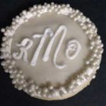 Monogram with Pearls
