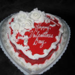 Large Heart Cake - icings vary