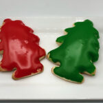 Iced Tree Sugar Cookies