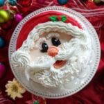 Flat Santa Face